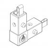 LiteTile LiteBox Corner, 2-Way