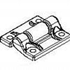 LiteTile LiteBox Hinge (with Four 1/4-20 x 1.25 in. Screws)