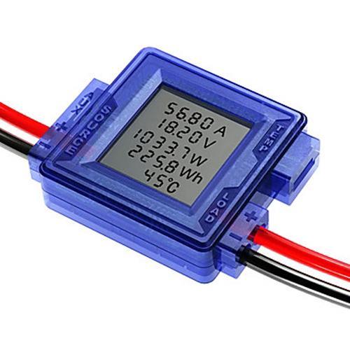 Litepower Monitor  Volt  Amp  Watt Meter  Barrel